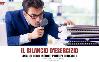 Il bilancio d'esercizio, analisi degli indici e principi contabili corso a Trento
